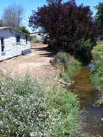 AquaKlear System Installed Adjacent to Creek