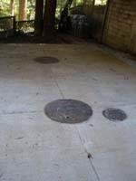 Concrete Under Driveway